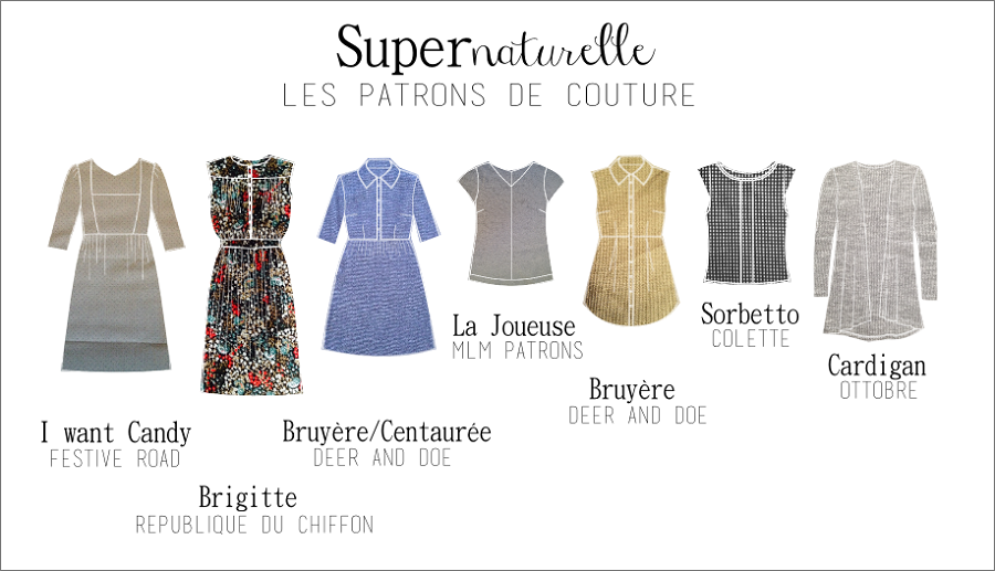 collection SUPERNATURELLE, les patrons_clo's