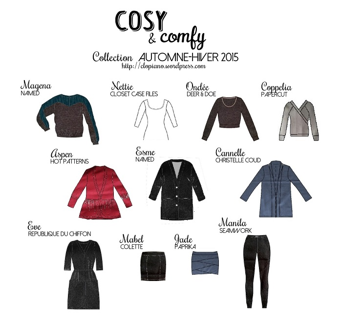 COSY & COMFY _ collection AH2015